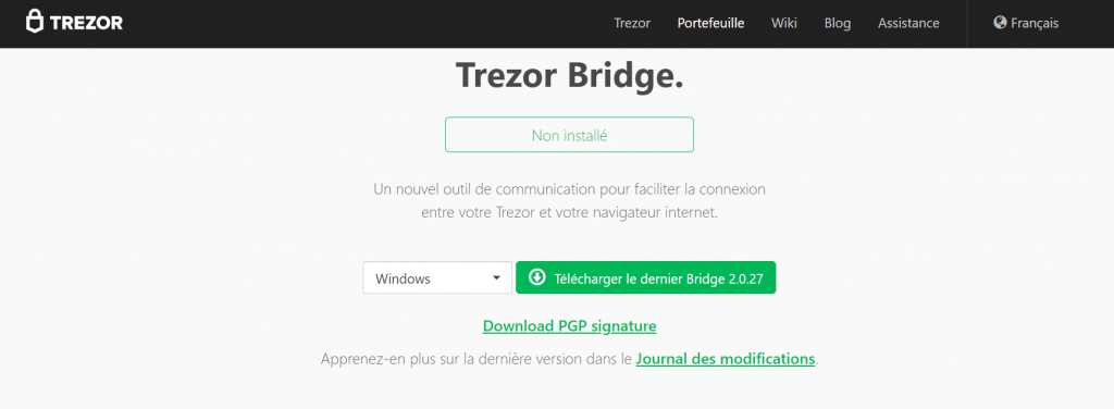 trezor-bridge