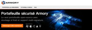 armory wallet site