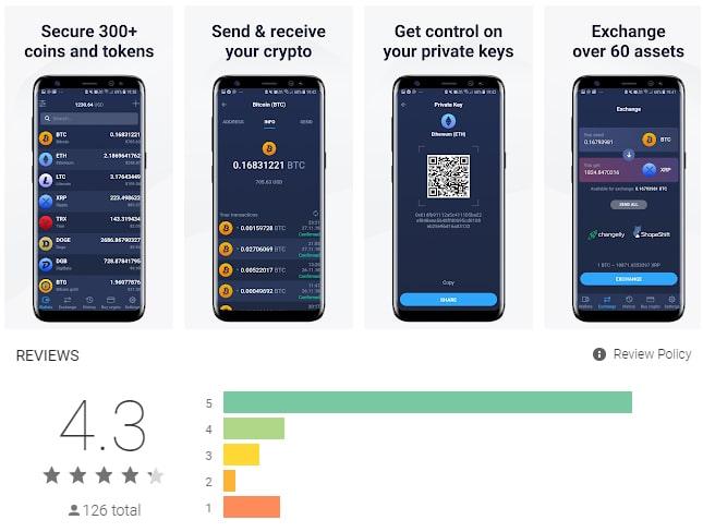 Atomic Wallet a-t-il une application?