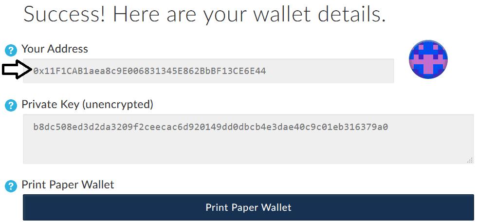 Recevoir des éthers et ERC 20 tokens avec MyEtherWallet