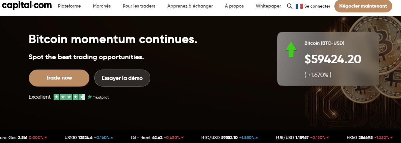 investir dans bittorrent avenir avec Capital.com