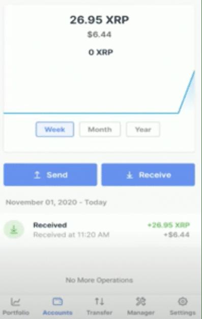 Comment Envoyer des Crypto Monnaies sur Ledger Nano X ?