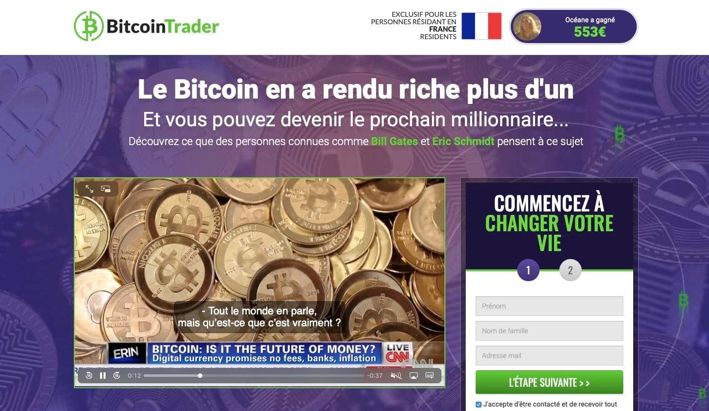 Accueil Bitcoin Trader