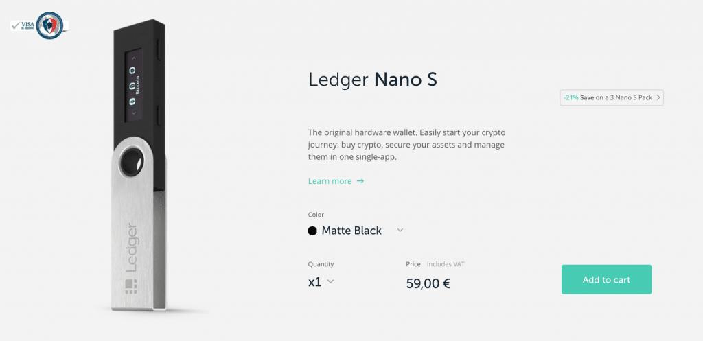 Comment Acheter un Wallet Ledger Nano S ?