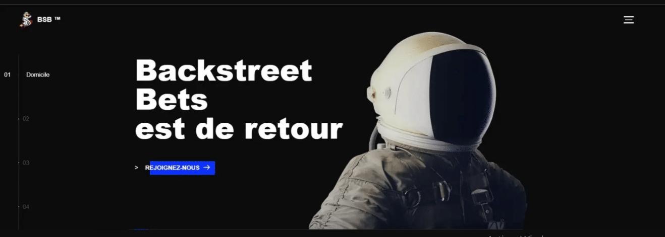 Backstreet Bets, C'est Quoi ?