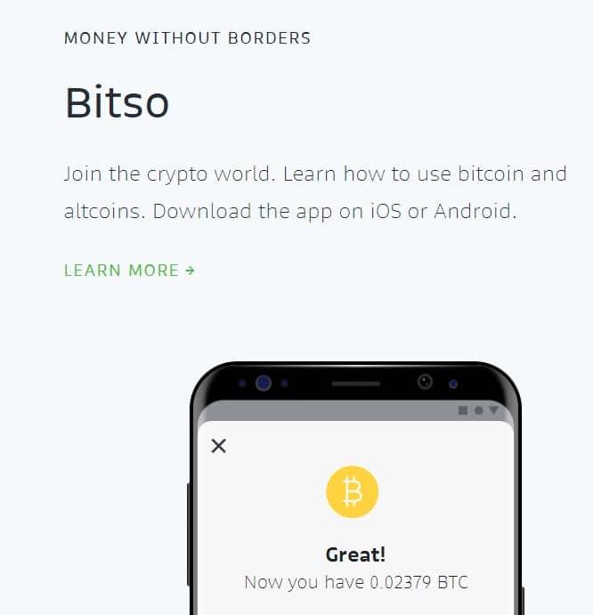 bitso wallet