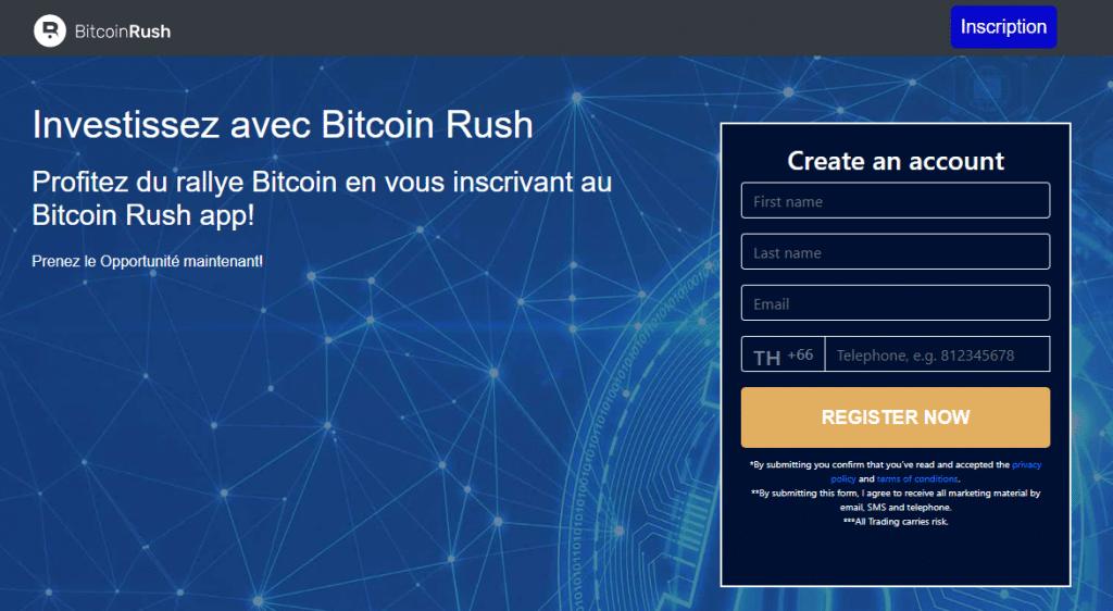 Bitcoin Rush Avis : Robot de Trading Fiable ou Arnaque ?
