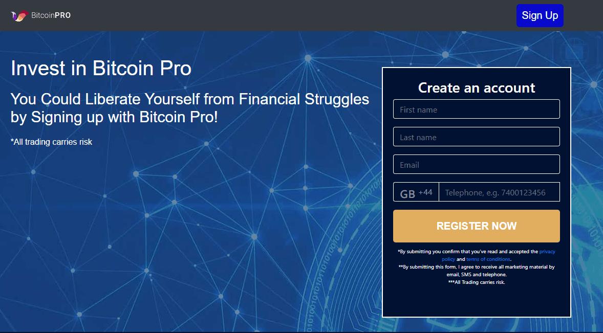 Étape 1: Ouvrir un Compte Bitcoin Pro