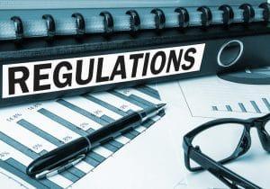 Regulations courtier