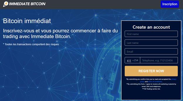 Immediate Bitcoin : Robot Fiable ou Arnaque ?