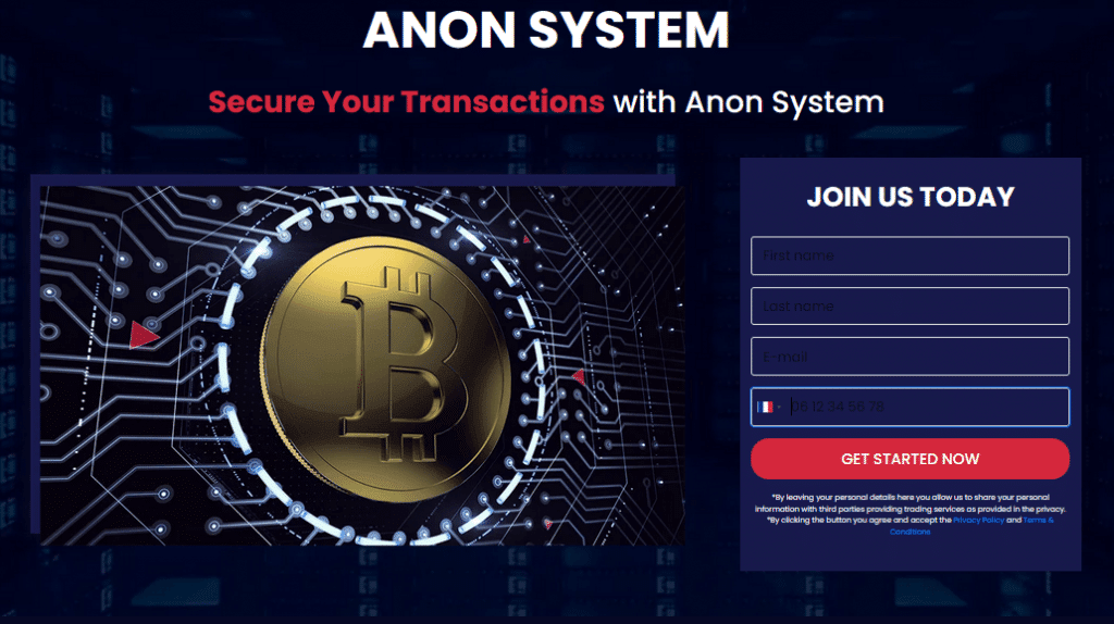 Anon System ouvrir compte