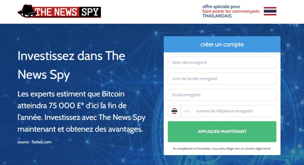 News Spy accueil