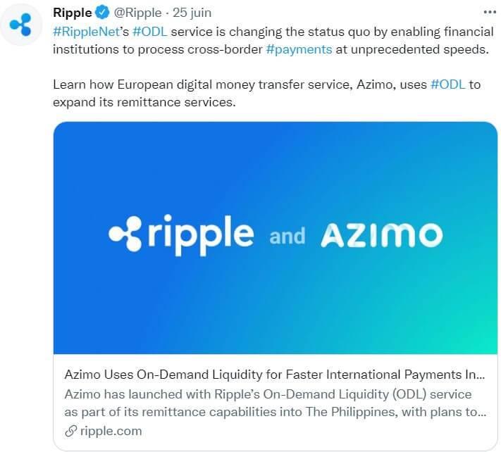XRP Ripple développe son offre en europe