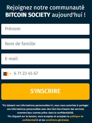 inscription Bitcoin Society