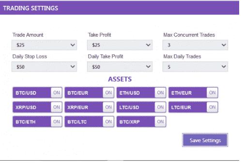 Ajuster les Paramètres et Activer l'Auto-Trading