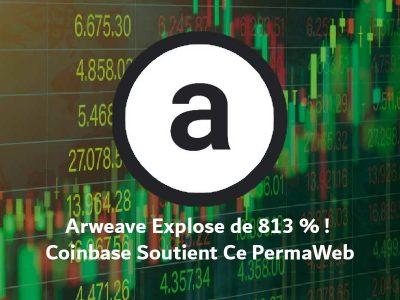 Arweave est soutenu par coinbase dans sa folle ascension