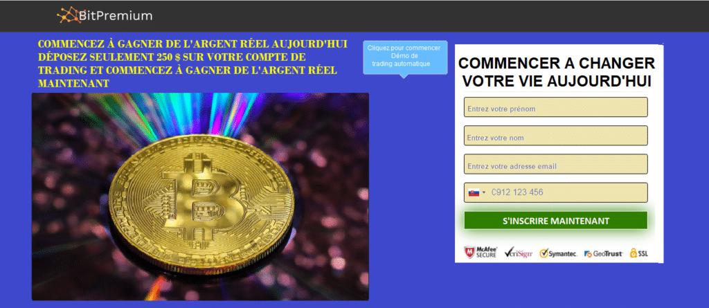 1. Ouvrir un Compte BitPremium