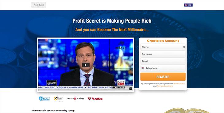 1. Ouvrir un Compte Profit Secret