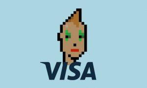 VISA achète le NFT Cryptopunk 7610 pour 141 000 euros