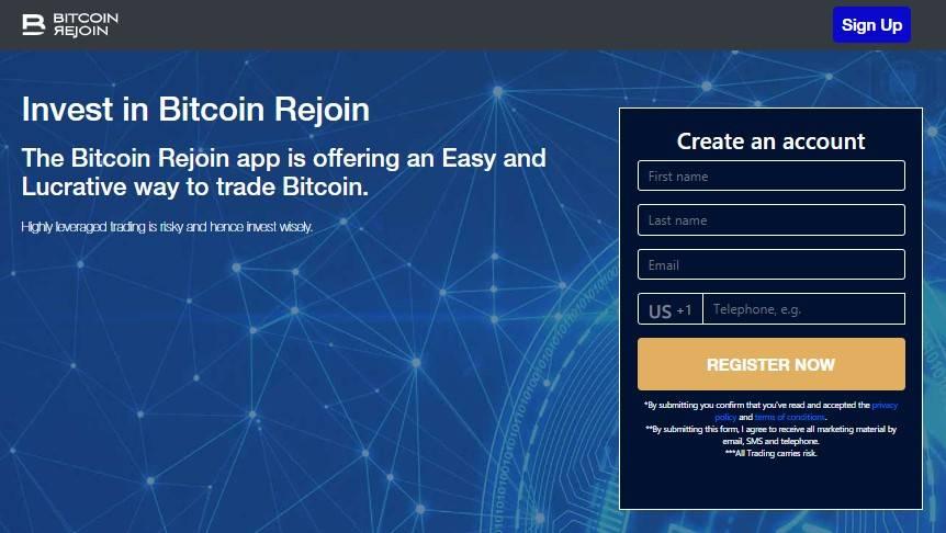 1. Ouvrir un Compte Bitcoin Rejoin