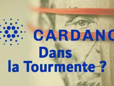 Cardano, entre peur des investisseurs et critique de la communauté. ADA perd 30 pourcent