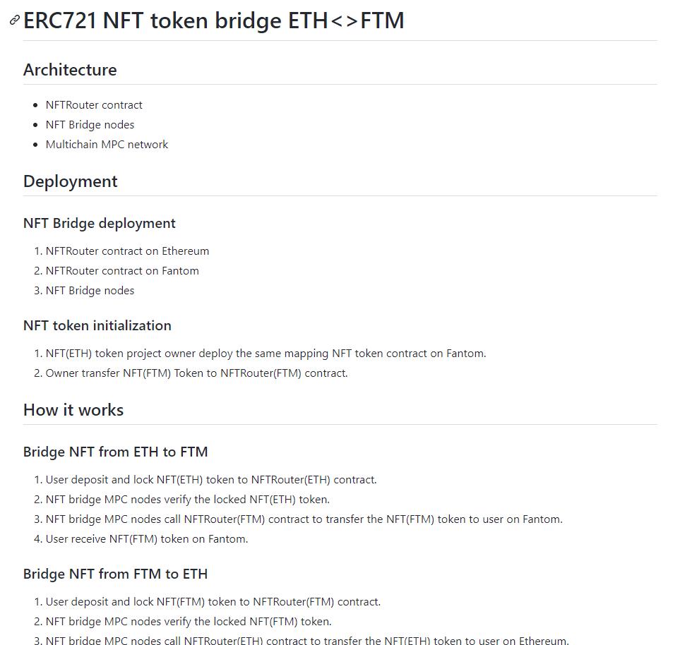 Andre Cronje annonce un bridge ERC721 ETH FTM grâce à Fantom