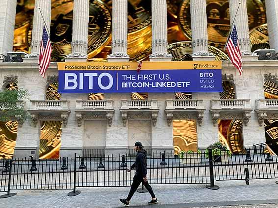 BITO - Bitcoin Proshares ETF Futures