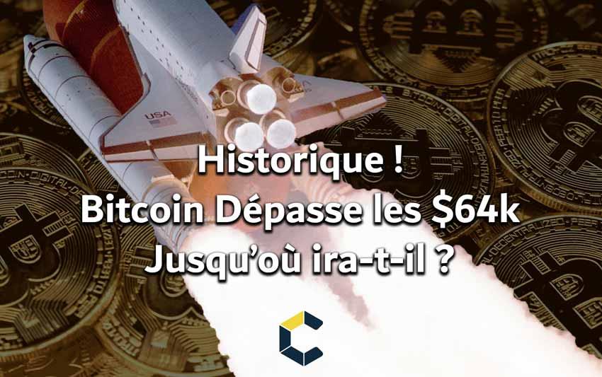 Le Bitcoin vient de casser son ATH. Cette nouvelle est une bombe, elle annonce le retour d'un marché haussier comme celui du début d'année.